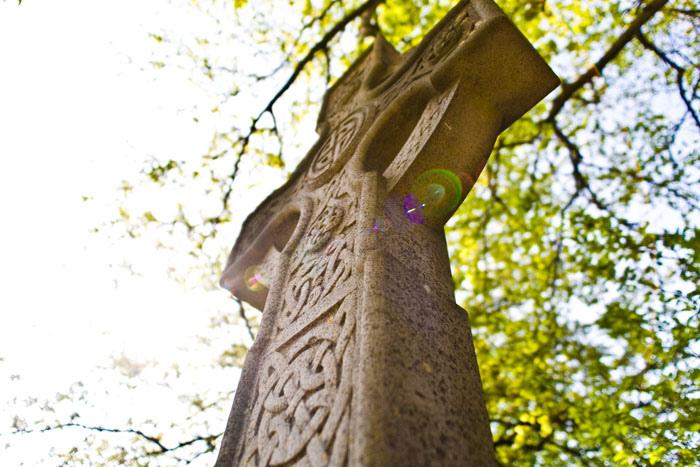 Memorial Cross from Christ Church Carysfort